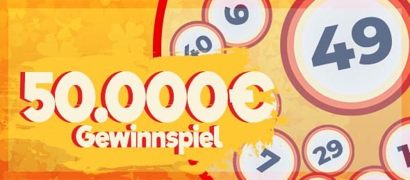 50.000 € Gewinnspiel