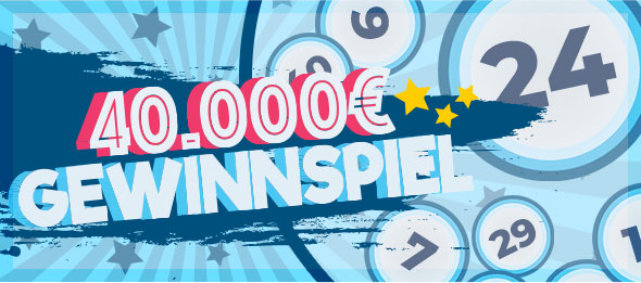 40.000 € Gewinnspiel